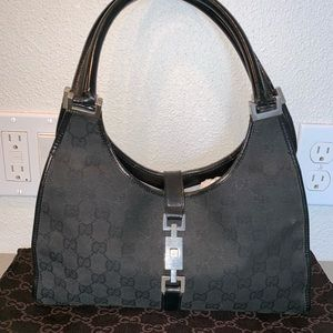 Authentic Gucci Jackie o shoulder tote satchel bag